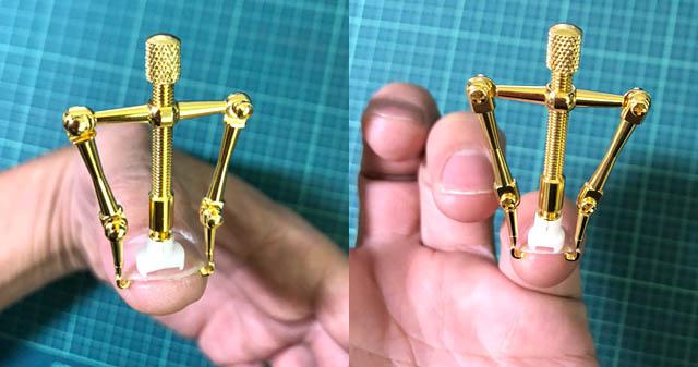 巻き爪ロボ 手